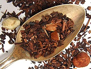 Plum Deluxe Chocolate Hazelnut Dessert Tea Organic Non-GMO Loose Leaf Tea, Gourmet, Made in the USA, Low Caffeine (15-20 Cups from 1 Oz. Pouch)