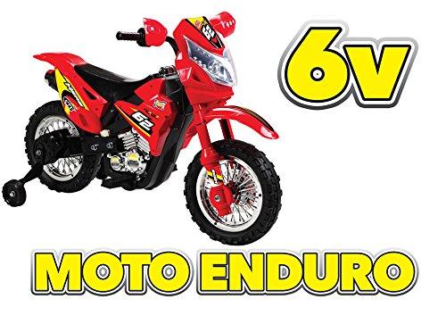 Moto Enduro 6v Rosso GV-5220