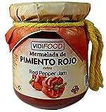 Mermelada Extra Artesanal de Pimiento Rojo - 210 g - Procedente de España - Casera & 100% Natural