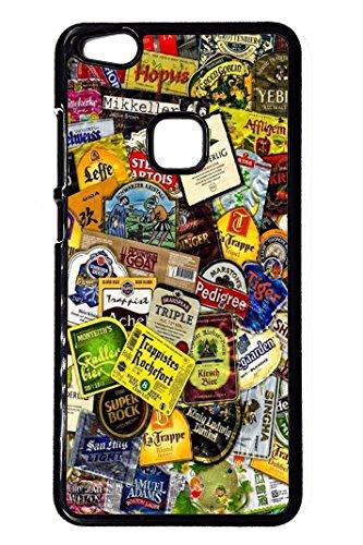 Bkstuff Cover Custodia Birre Etichette Loghi per Vari Modelli Huawei (Huawei P10 Lite)