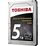Toshiba X300 Hard Disk Interno, SATA, 5 TB, Argento