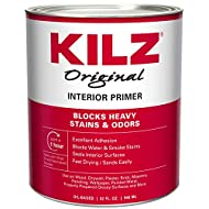 KILZ Original Multi-Surface Stain Blocking Interior Oil-Based Primer (Low VOC Formula) White, 32 Fluid Ounces
