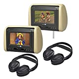 Audiovox Dual Dvd Mobile Video Headrest System