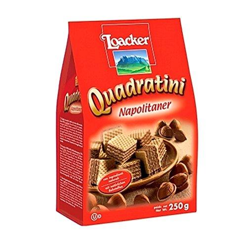 Waffeln Quadratini Napolitaner 250 gr. - Loacker