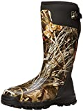LaCrosse Men's 376013 Alphaburly Pro 18' 800G Waterproof Hunting Boot, Realtree Max-4 - 6 M