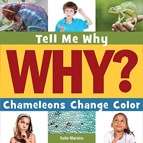 Chameleons Change Color cover art