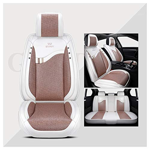 XWL Sillas de Coche Cojín del Asiento del automóvil Funda de Asiento Universal Impermeable for el automóvil Buen diseño de transpirabilidad y Comodidad Adecuado for la mayoría de los Modelos