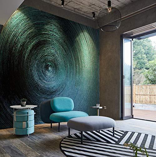 3D behang vlies, vlies, 3D, wandbekleding, decoratie, Duitsland, importbehang, eenvoudig, modern, sofa, wand, blauw, ring, snoep, behang 250cm*175cm