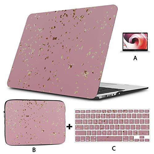 Macbook Air Case 2018 Colorful Retro Cute Art Painting Macbook Air Case Hard Shell Mac Air 11'/ 13' Pro 13'/ 15' / 16'con Funda para portátil para Macbook 2008-2020 Version