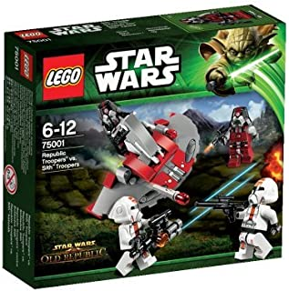 LEGO (LEGO) Star Wars Republic Trooper? Vs cis? Troopers 75001