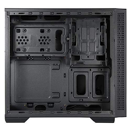 Chieftec UK-02B-OP Cubo Negro - Caja de Ordenador (Cubo, PC, SPCC, Negro, ATX,Micro ATX,Mini-ITX, 11 cm): Amazon.es: Informática