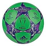 adidas Spielball Finale Berlin - Balón de fútbol de Entrenamiento, Color Verde, Talla 53 x 29 x 15 cm, 15.5 Liter