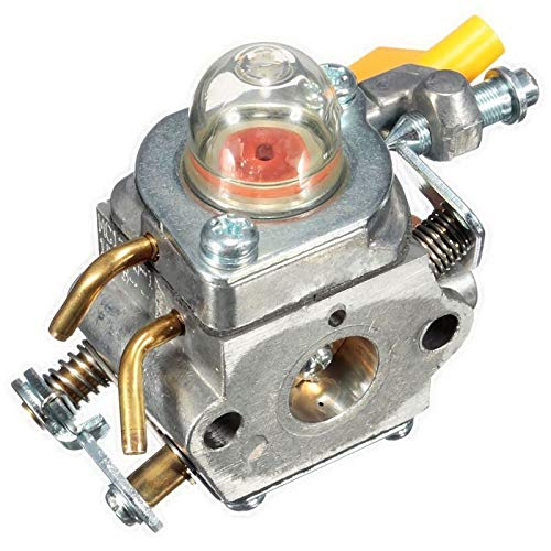 QIUXIANG Carburador en Forma for Homelite ZAMA RYOBI 308054003 3074504 985624001 C1U-H60 26CC 30CC (Color : Silver)