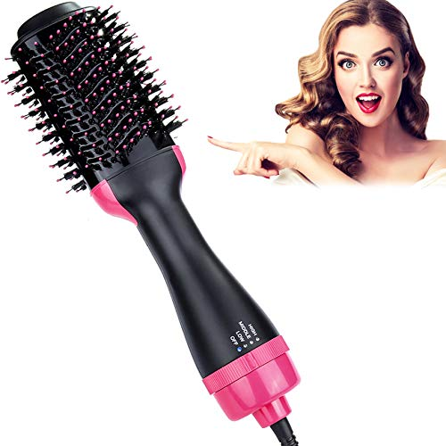Blow Dryer Brush, Hieha Professional 4 in 1 One Step Hair...