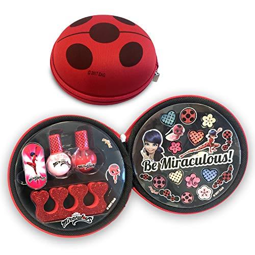 Miraculous Ladybug- Bolsa Belleza manicura Simba 9413169