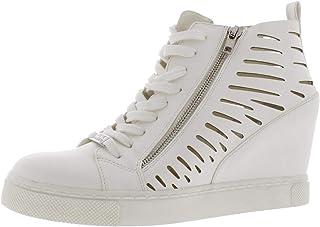 425a0cf9d90 Amazon.com: Steve Madden Recess Women US 11 White Sneakers