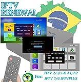 DOODOT IPTV Brazil TV Subscription Code for A2 A3 HTV IPTV5 6 8...