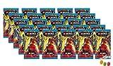 Blue Ocean Lego® Ninjago™ Trading Cards Serie 6 'La isla - 25 paquetes de 5 tarjetas de felicitación, además recibirás 1 x surtido de pegatinas y caramelos de frutas