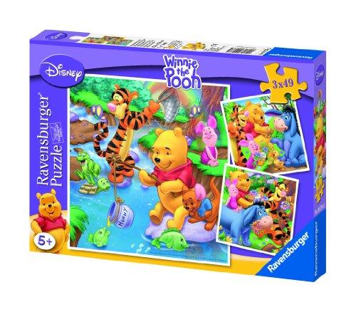 Ravensburger Winnie The Pooh - Puzzle, 3 x 49 Piezas 09276 5