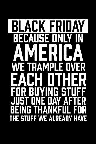 "Black Friday: Black Friday Notebook | Christmas Shopping Spree Santa Claus  Winter Deals Holiday Season Mini Notepad Funny Xmas Humor Gift College Ruled (6""X9"")"