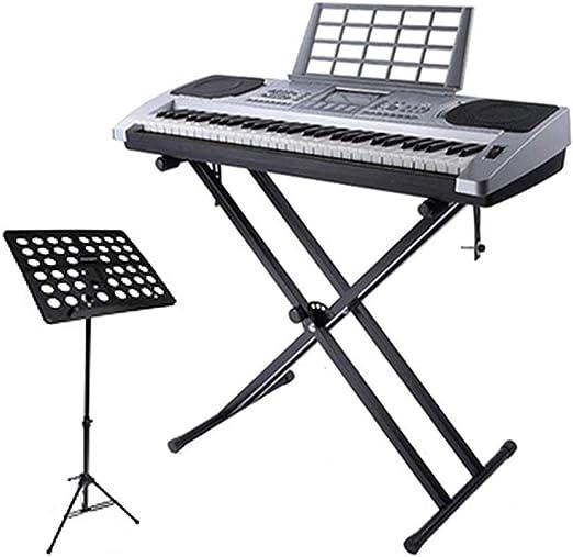 Soporte Piano Digital, Soporte de Teclado de Piano Plegable ...