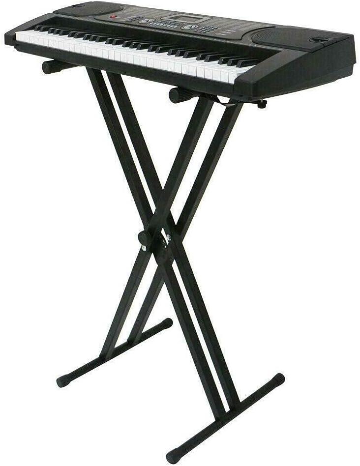 Kosoree Adjustable Music Keyboard Electric Du discount 5 popular Iron X-Stand Piano