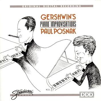 Gershwin's Piano Improvisations