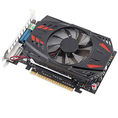 Wosune Scheda Grafica GTX1050Ti 4G 128 Bit DDR5 780 MHz per Accessori di Rete per Computer Desktop