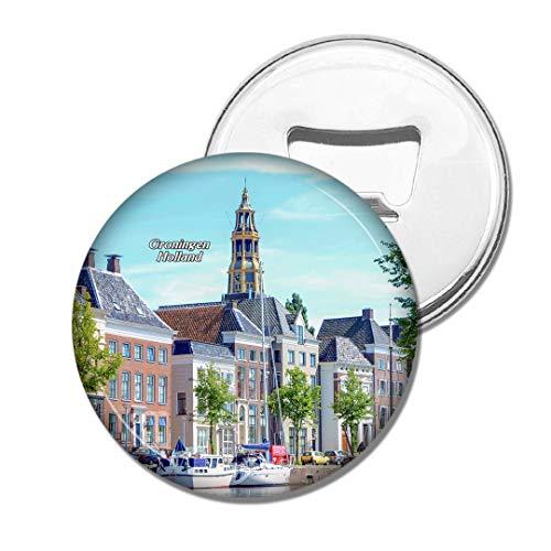 Weekino Holland Bourtange Groningen Bier Flaschenöffner Kühlschrank Magnet Metall Souvenir Reise Gift