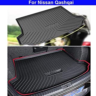 1pcs Car Boot Mat Car Cargo Mat Auto Floor Mats Trunk Cargo LinerRear Cargo Tray Trunk Floor Mat Anti Skid Trunk Floor Mat For Nissan Qashqai 2009 2010 2011 2012 2013 2014 2015 2016 2017 2018 2019