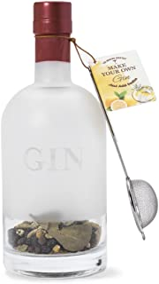 Thoughtfully Gifts, Make Your Own Gin: Homebatch Edition, A Collection of Spices and Materials for Crafting Homemade Small Batches of Gin