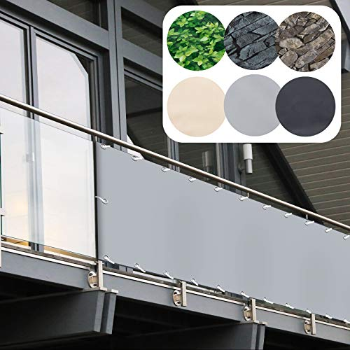 casa pura -  Balkon Sichtschutz