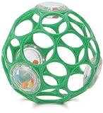 Rhino Toys 81034 Oball 4 - Pelota de actividades con rattling, color verde