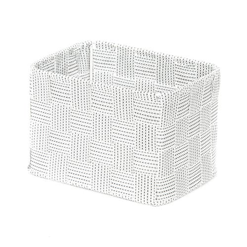 Compactor Toronto Panier de rangement, Blanc, XS, 19 x 14 x H 13 cm, RAN8557