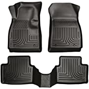 Husky Liners Front & 2nd Seat Floor Liners Fits 13-18 Encore, 15-18 Trax