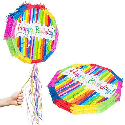 GOODS+GADGETS Pinata Party-Dekoration zum Befüllen mit Süßigkeiten für Kinder-Geburtstag Hochzeit Feier - Esel