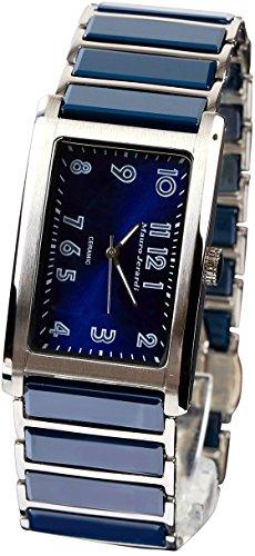[マウロジェラルディ] 腕時計 3針 セラミック MJ051-4 メンズ ブルー