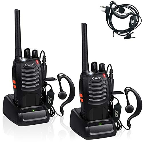 Walkie Talkies BF-88e USB Rechargeable Long Range Two Way Radios with...