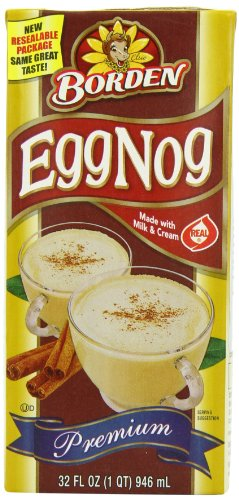 Egg Nog Mix- Liquid