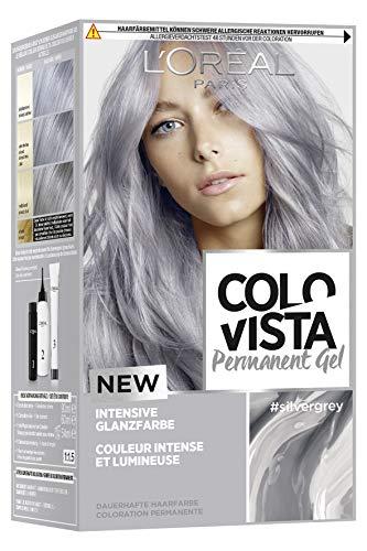 L'Oréal Paris Colovista Permanent g) el #silvergrey 3er Pack(3 x 206 g)