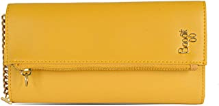 Baggit 3 Fold Wallet (Yellow)
