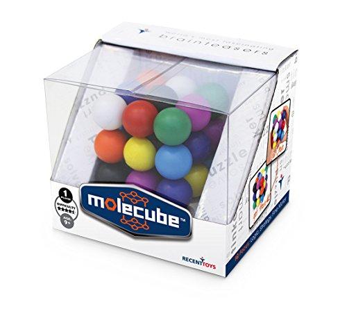Mefferts 501236 - Geduldspel Best Mole Cube 3D-puzzel in aantrekkelijke geschenkverpakking vanaf 7 jaar