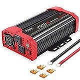 NDDI 1500W Car Power Inverter 12V DC to 110V...