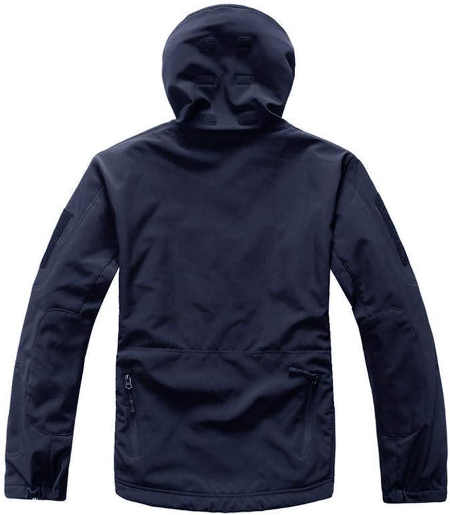 MAGCOMSEN Men's Hooded Tactical Jacket Water Resistant Soft Shell Snow Ski Winter Coats