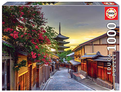 Educa - Pagoda Yasaka, Kioto, Japón Puzle, 1 000 Piezas, Multicolor (17969)