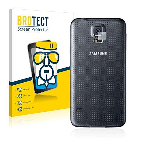 BROTECT Protector Pantalla Cristal Compatible con Samsung Galaxy S5 (SÓLO Cámara) Protector...