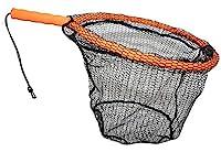 ForEverlast Inc. Generation 2 Non-Snag Floating Fishing Landing Net for Wade Fishing, Fly Fishing, Kayak Fishing, G2 Pro Net, Orange