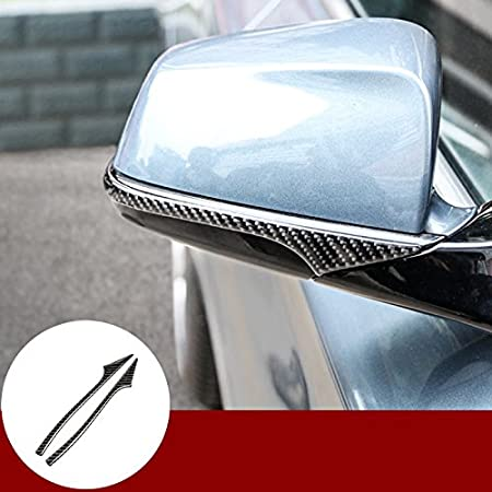 Wroadavee Kohlefaser Außenspiegel Abdeckung Spiegel Anti Reibungs Schutz Auto