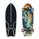 Monopatín 29 Pulgadas Carver Tabla De Surf Patín Profesional Tierra Tabla De Surf, City Road Monopatín Aterriza El Crucero Completo, Apto Para Adultos, Niños Y Regalos De Los Amantes De Surf,No.26