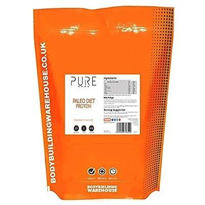 Bodybuilding Warehouse Pure Paleo Diet Protein Powder (Orange, 1kg)